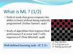 what is ml 1 2