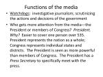 functions of the media1