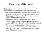 functions of the media2