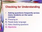 checking for understanding7