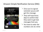 amazon simple notification service sns9