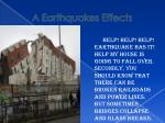 a earthquakes effects