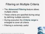 filtering on multiple criteria