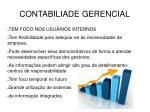 contabiliade gerencial