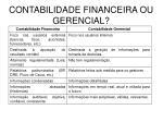 contabilidade financeira ou gerencial