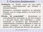 2 conceitos fundamentais