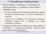 3 o ambiente institucional1