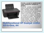multifunctional hp deskjet 1050a all in one a4