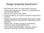 design jeopardy questions