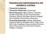 transicion demografica en america latina
