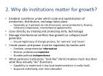 2 why do institutions matter for growth