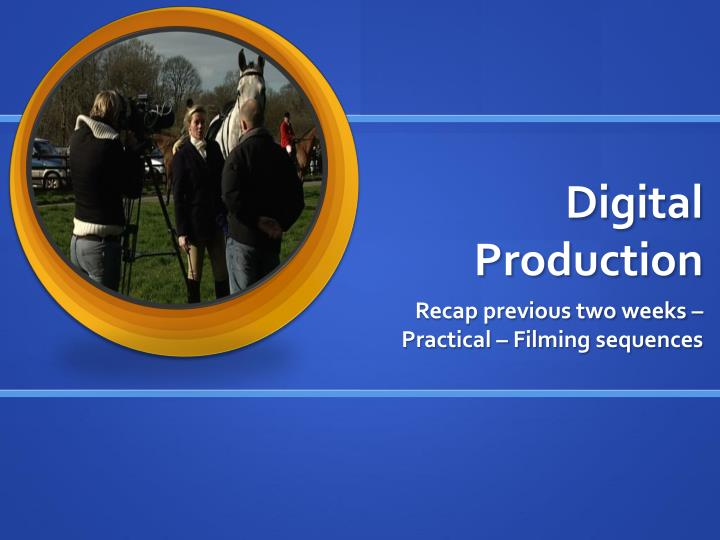 digital production n.