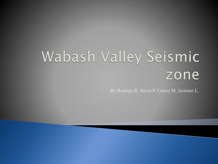 wabash valley seismic zone n.