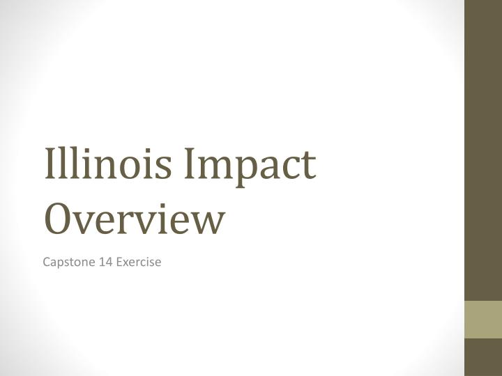 illinois impact overview n.