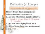 estimation qs example2