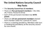 the united nations security council key facts