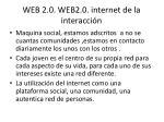 web 2 0 web2 0 internet de la interacci n