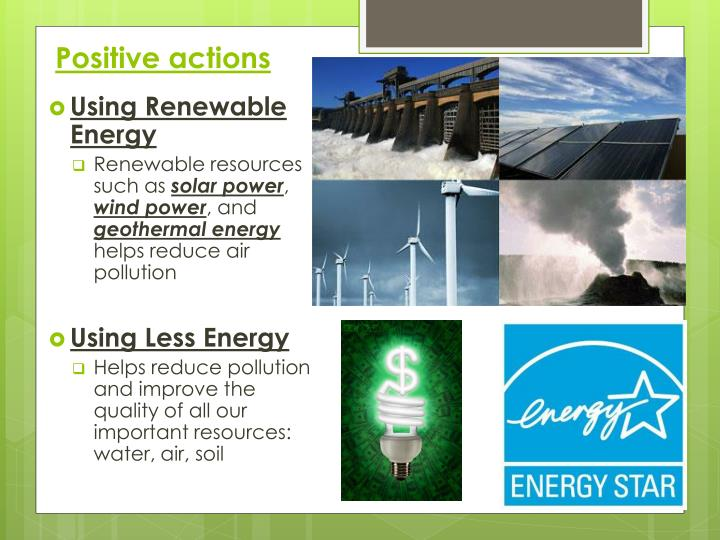 renewable energy beneficial for the environment