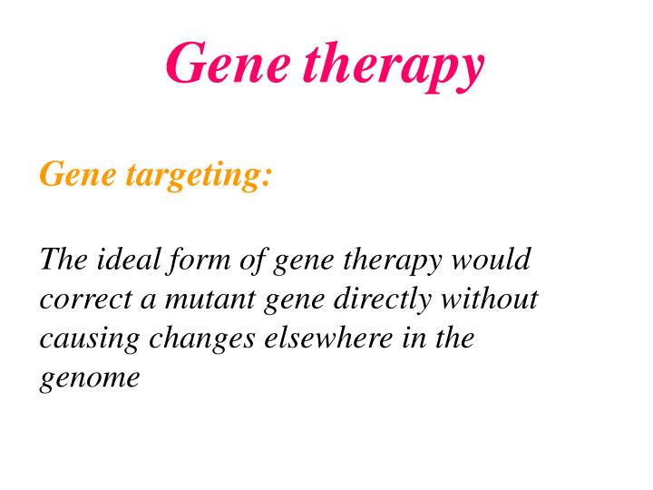 ppt - cancer gene therapy powerpoint presentation