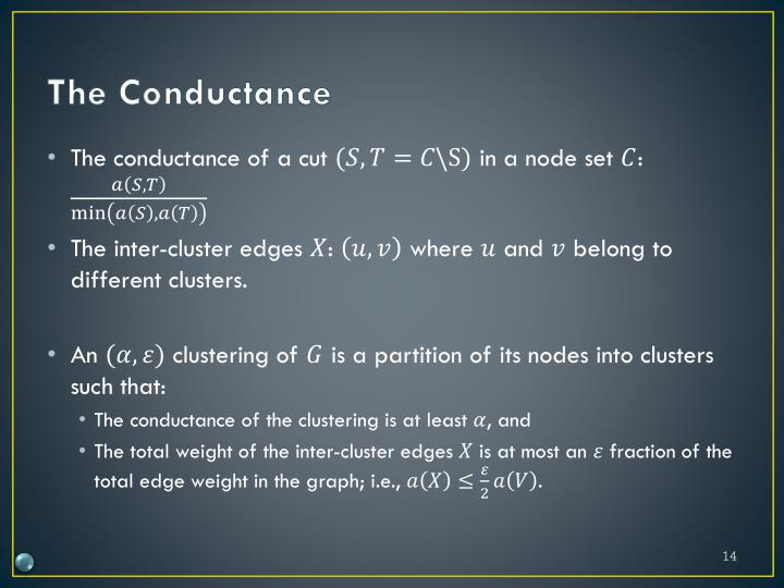 The Conductance