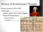 history of evolutionary thought4