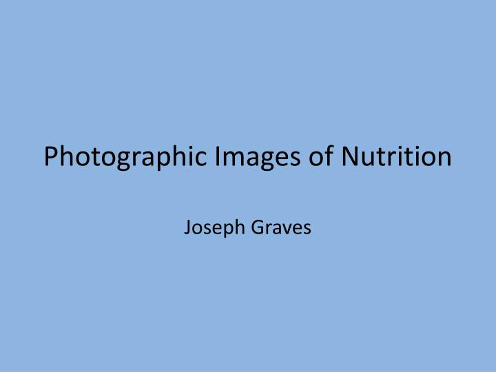 photographic images of nutrition n.