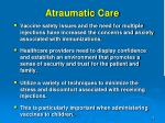atraumatic care