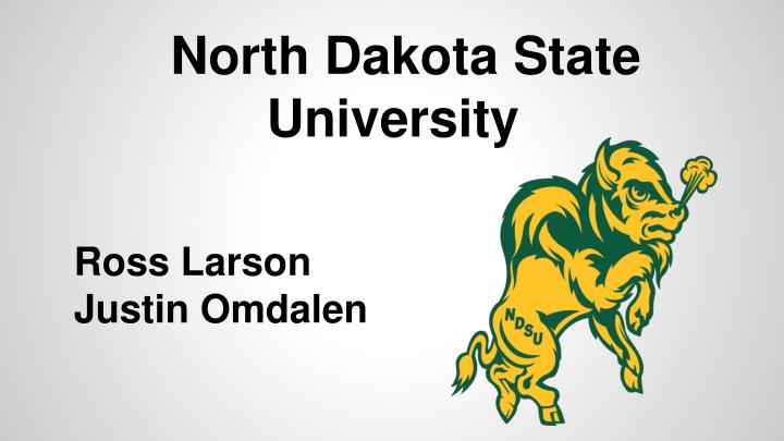 north dakota state university n.