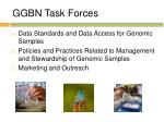 ggbn task forces