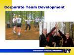 corporate team development