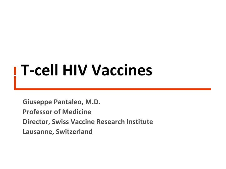 t cell hiv vaccines n.
