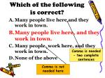 which of the following is correct1