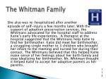 the whitman family6