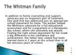 the whitman family7