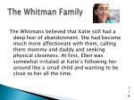 the whitman family9