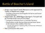 battle of beecher s island