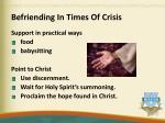 befriending in times of crisis1