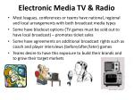 electronic media tv radio