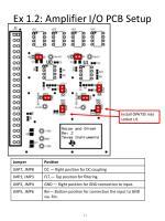 ex 1 2 amplifier i o pcb setup