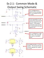 ex 2 1 common mode output swing schematic