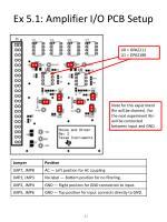 ex 5 1 amplifier i o pcb setup