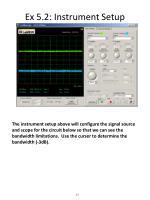 ex 5 2 instrument setup