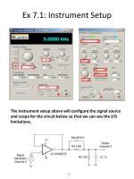 ex 7 1 instrument setup