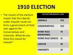 1910 election