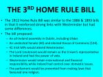 the 3 rd home rule bill