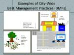 examples of city wide best management practices bmps