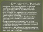environmental pursuits