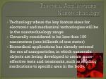 practical applications nanotechnology