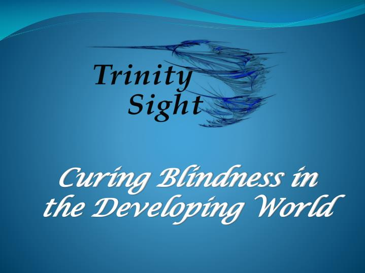curing blindness in the developing world n.