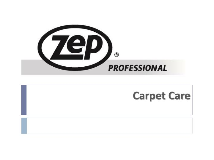 carpet care n.